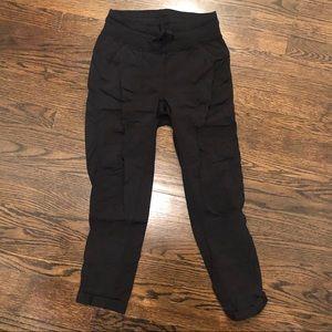 lululemon cropped studio pant